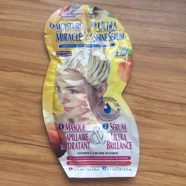 Moisturising hair mask