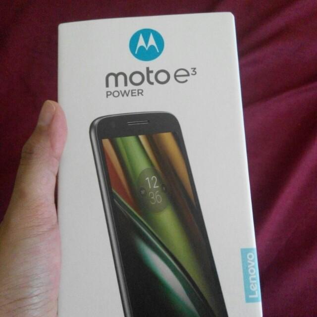 Motorola E3 Power 1,350 jt