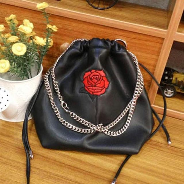 My Rose Bucket Handbag