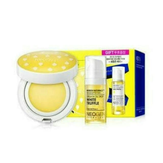 Neogen White Truffle Laycure Oil Balm Pact Special Kit 2 Items