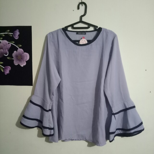 NEW! atasan / peplum💜