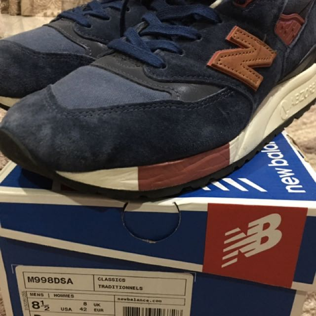 New balance m998 dsa limited edt made in usa