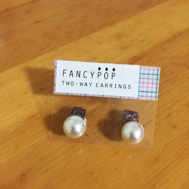 •NEW• TWO-WAY earrings