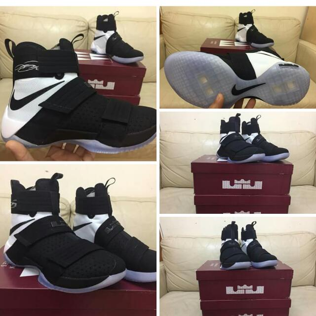 Nike Lebron Soldier 10 SFG Ep Size 9 Us