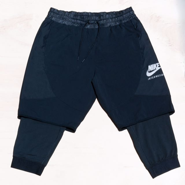 Nike Sportswear Layered Pants 短褲 雙層七分褲 長褲