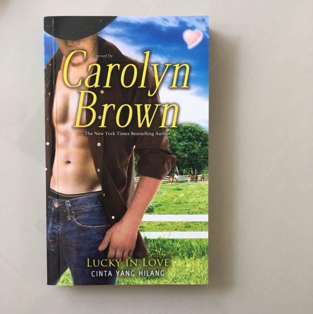novel carolyn brown lucky in love