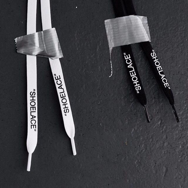Off-White Shoelace Offwhite shoe lace