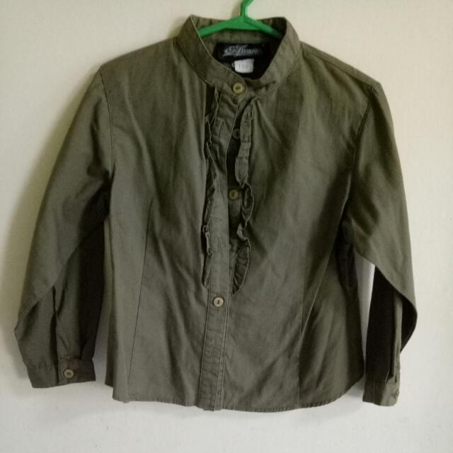 Olive Green Long Sleeves