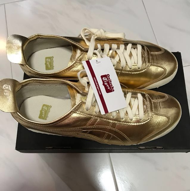 pretty nice ca913 02548 Onitsuka Tiger Gold Mexico 66, Men's Fashion, Footwear ...