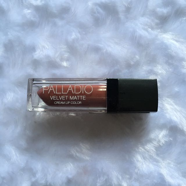 Palladio velvet matte lip color