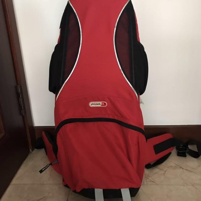 d948e8b373b Phil   Teds Metro (backpack) carrier on Carousell