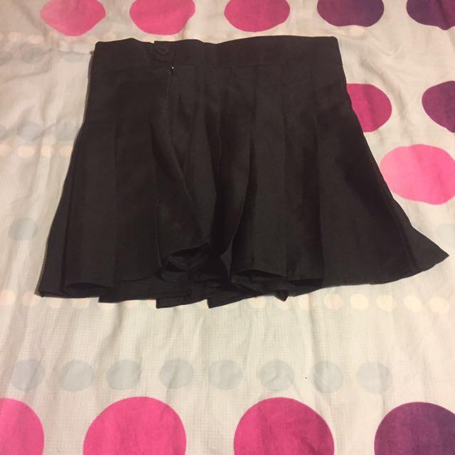 Plaited School Like Skirt