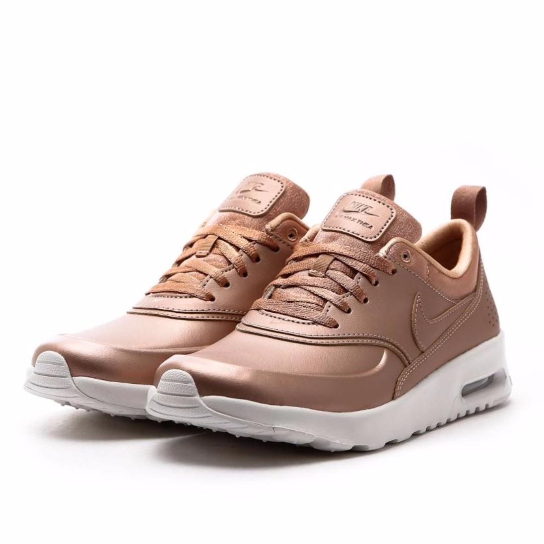 Nike Womens Air Max Thea Premium Rose Gold Nike Air Max Thea