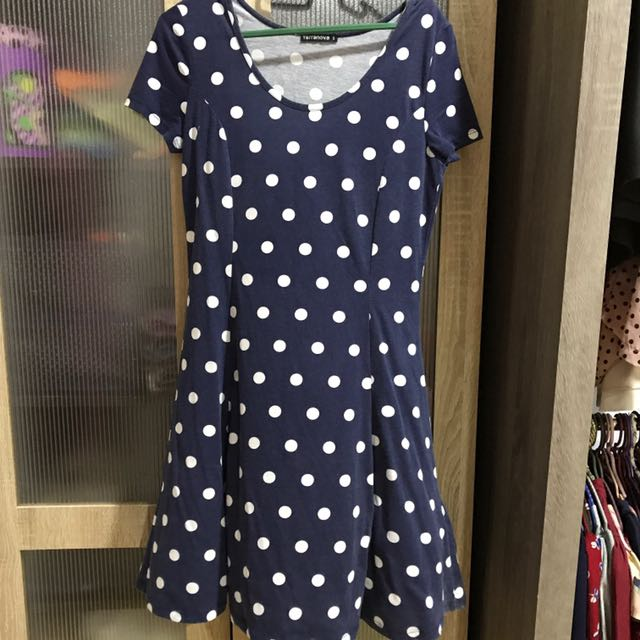 Polka casual dress
