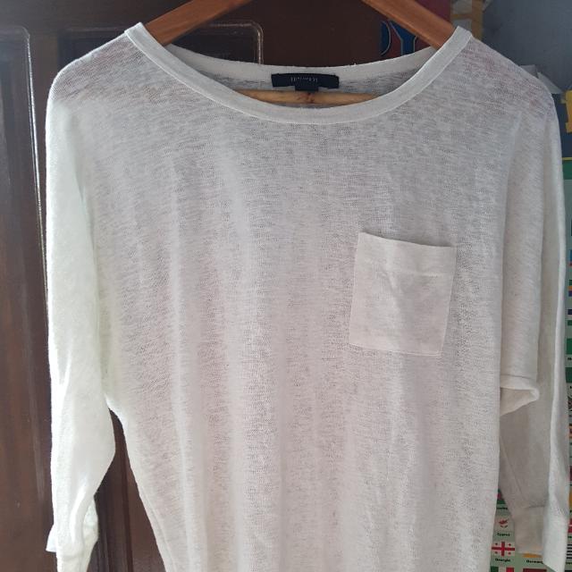 Preloved White Long Sleeve