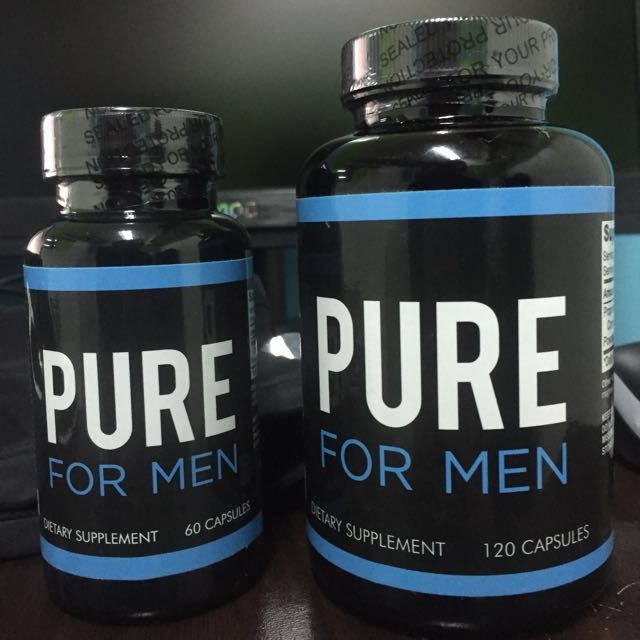 Pure For Men Cleanliness Supplements