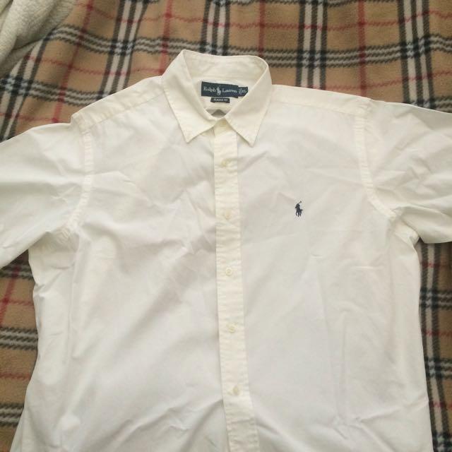 Ralph Lauren Short Sleeve White