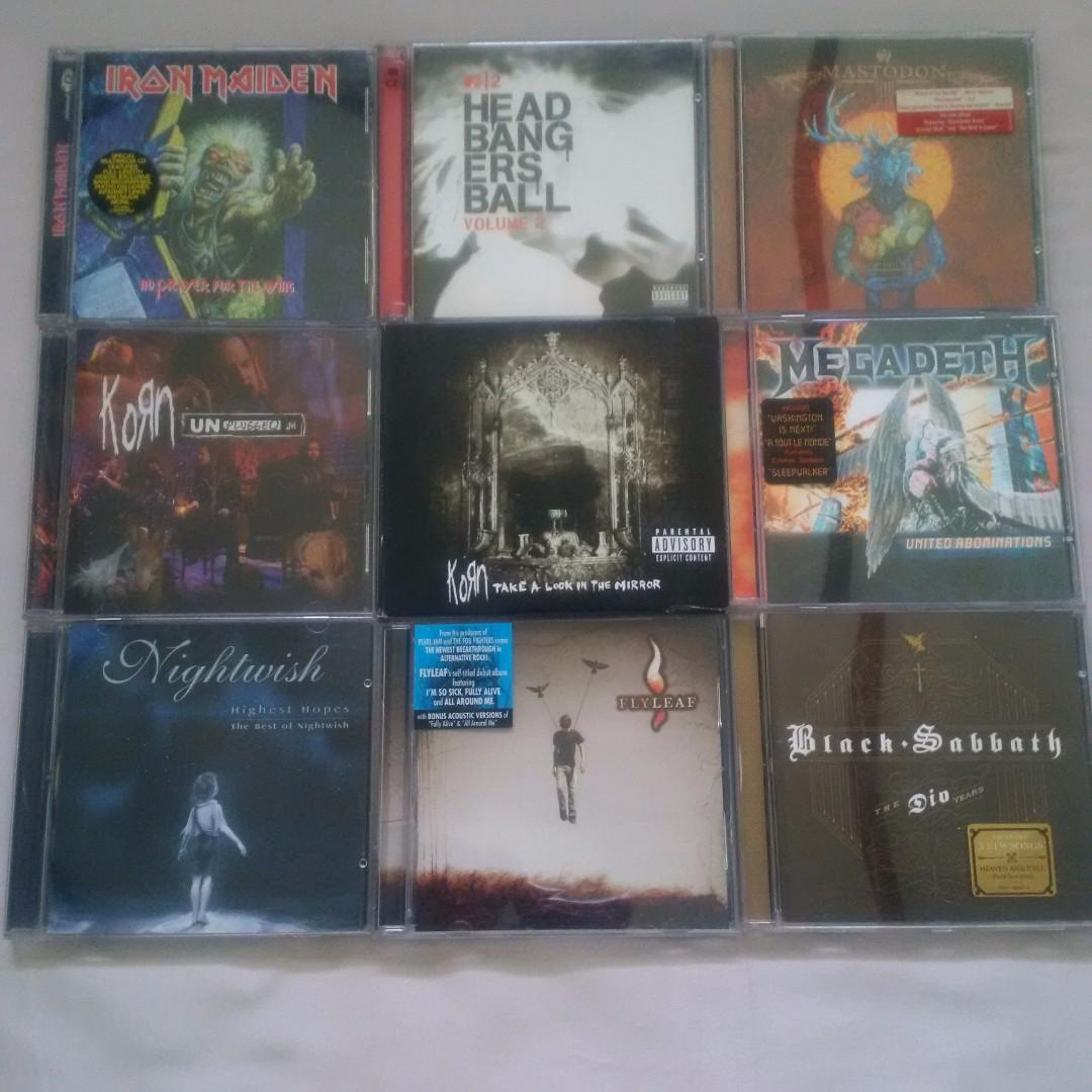 REPRICED : Rock/Metal Original Audio CDs