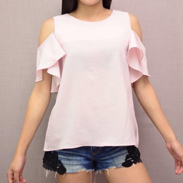 Ruffles blouse (medium)