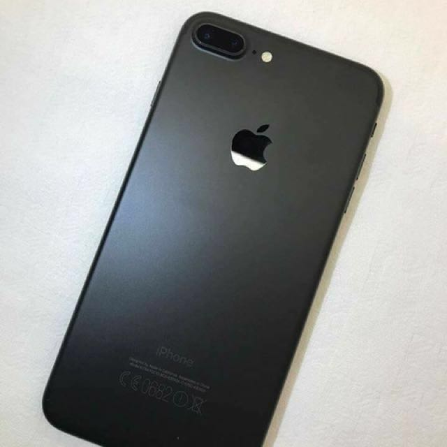 8974479a6b4 RUSH SALE - Iphone 7 Plus Matte Black 32gb Factory Unlocked