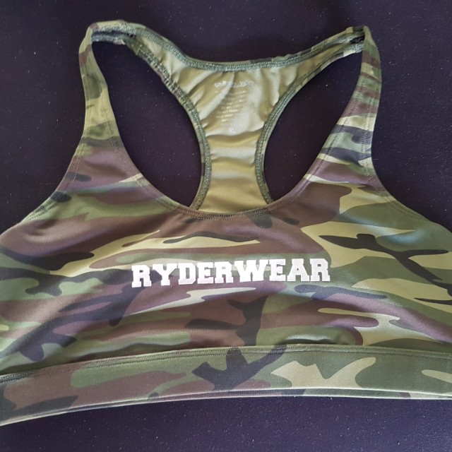 Ryderwear Camo Crop