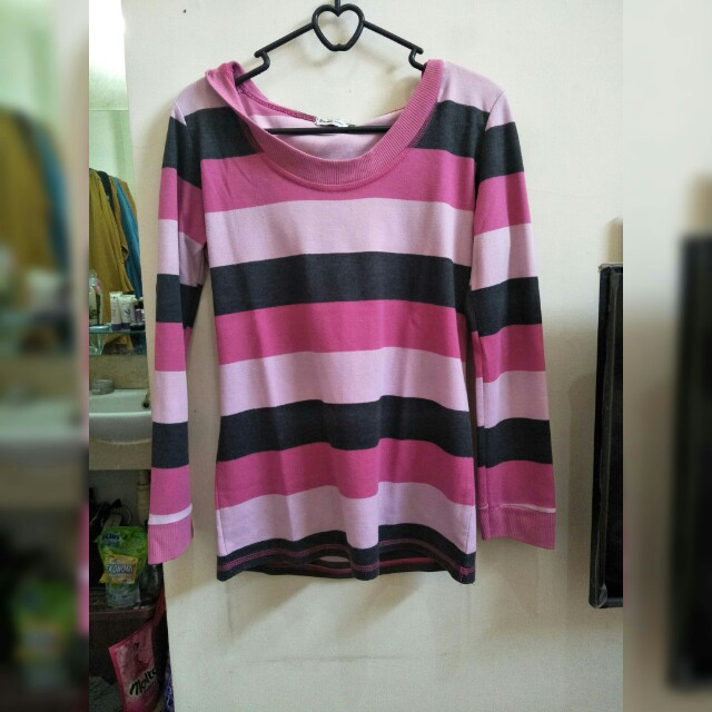 SALE ONLY 25K sweater pink