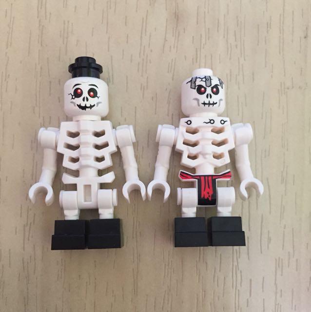 Set Of 2 Lego Ninjago Skeletons, Toys & Games, Bricks & Figurines on ...