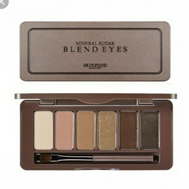 #FREE POSTAGE#  SKINFOOD Eyeshadow Mineral Sugar Blend Eyes #06 Apple Cinnamon Cruffin