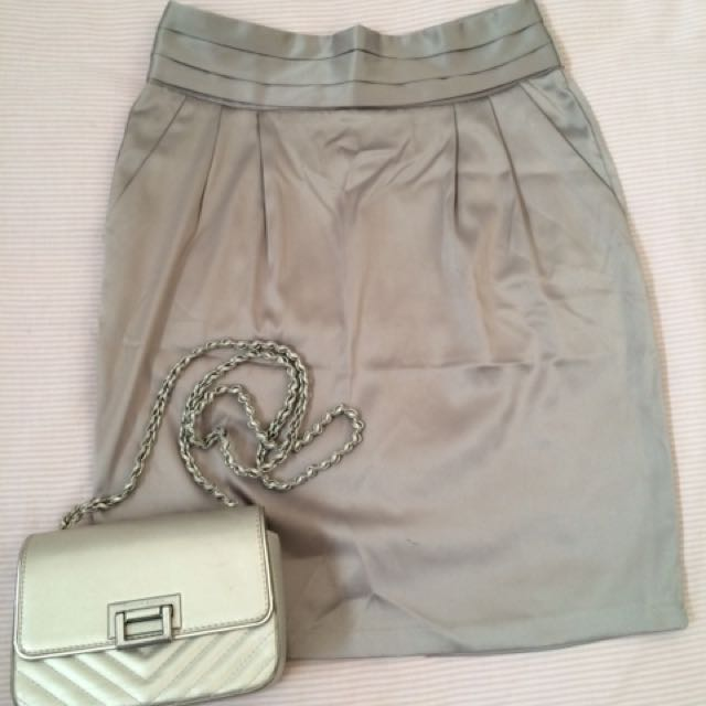 Skirt Grey ( No brand )