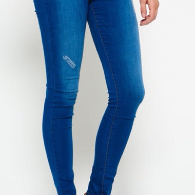 Sophia skinny Superdry jean size 8