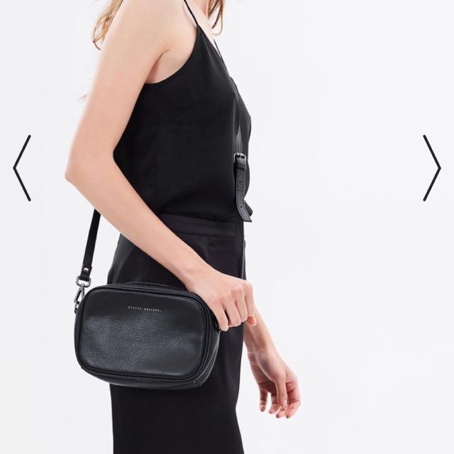 Status Anxiety Plunder Bag Black