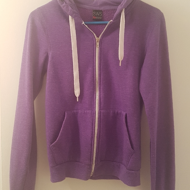 SWS Purple Hoodie