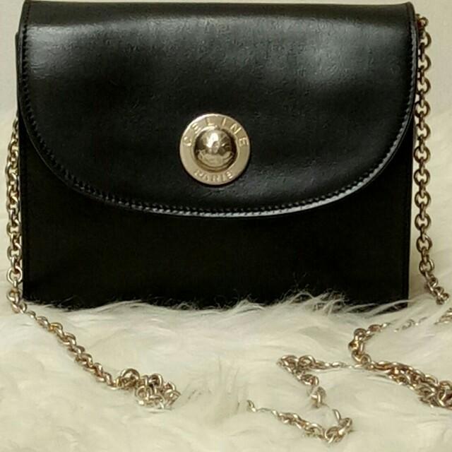 Tas Wanita Original CELINE bag Vintage Second Bekas Preloved Branded ... f5410bacb2