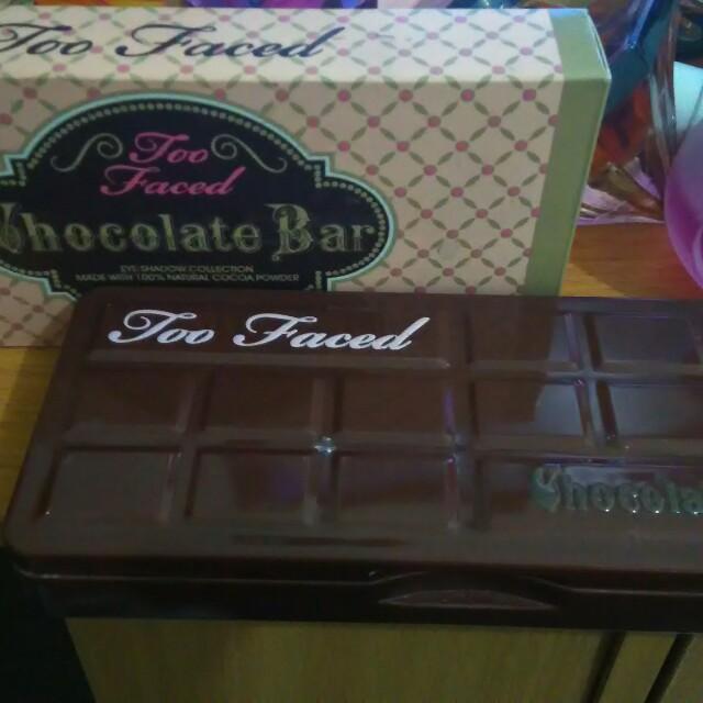 Too faced chocolate bar ori singapore
