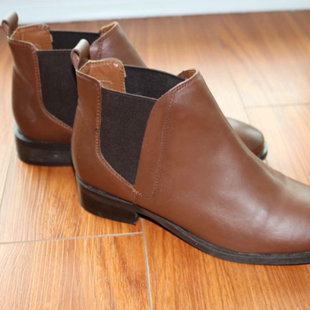 Topshop real leather boots (size 37)