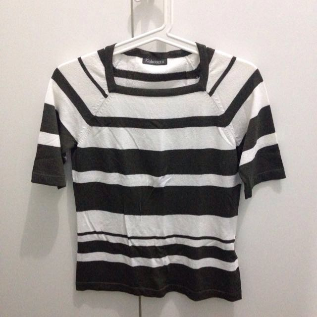 Tshirt Stripes Stretch