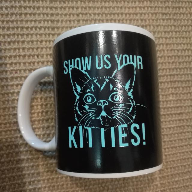 Typo Meow Mug