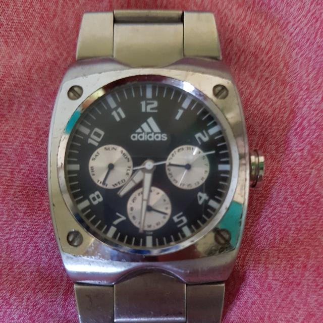 Unisex AUTHENTIC ADIDAS  Silver Watch