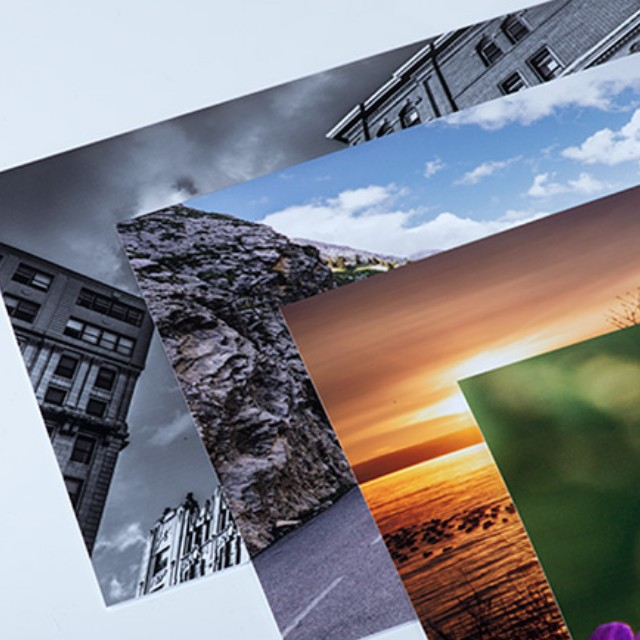 Various size photo printing services!