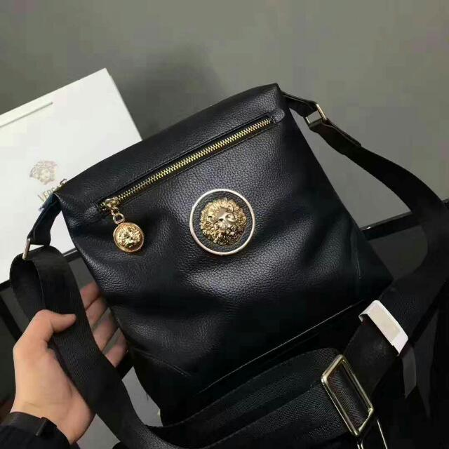 Versace Sling Bag NMV 990, Men s Fashion, Bags   Wallets, Sling Bags on  Carousell c46bf009af