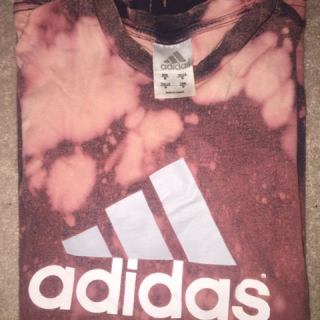 Vintage adidas tie dye shirt