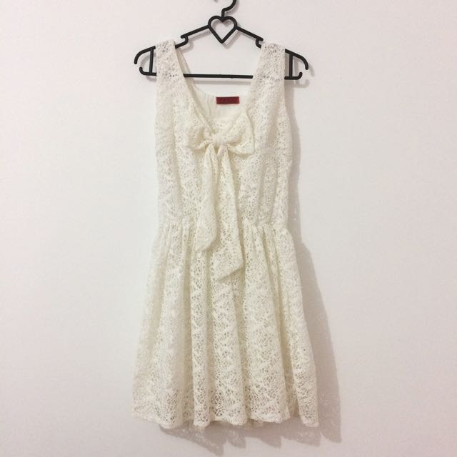 White Lace Dress PO Bangkok