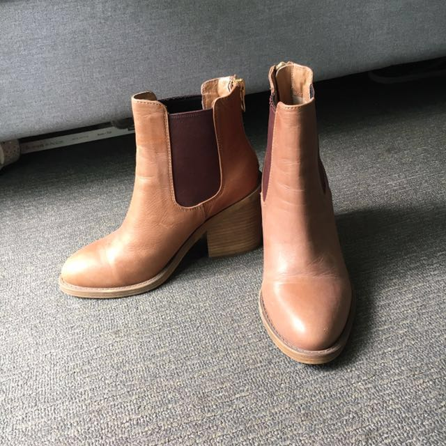 Windsor smith camel boots