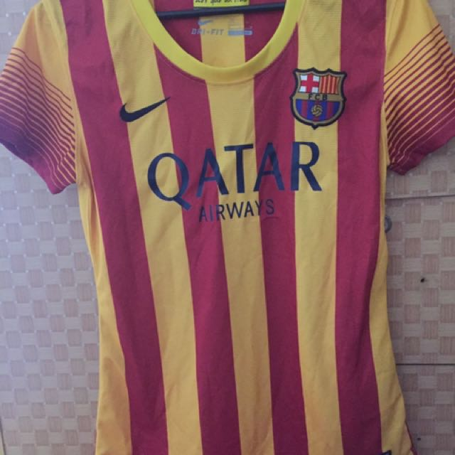 Women authentic FCB jersey