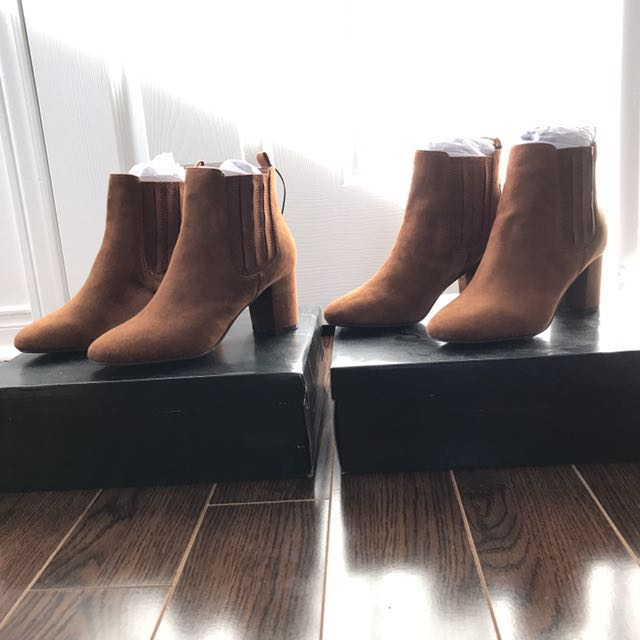 XXI Suede Booties - BRAND NEW