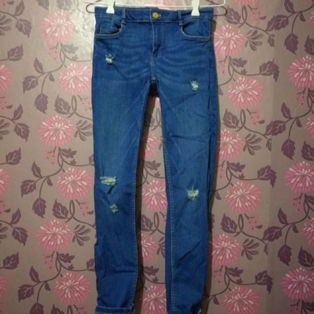 Zara Distressed Pants