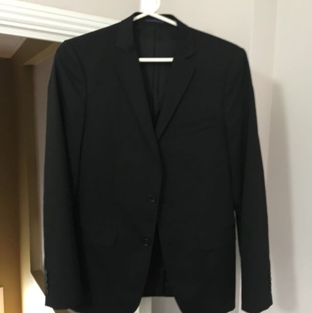 Zara men's black dinner jacket