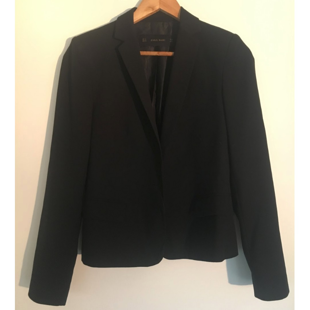 ZARA Women Basic Blazer
