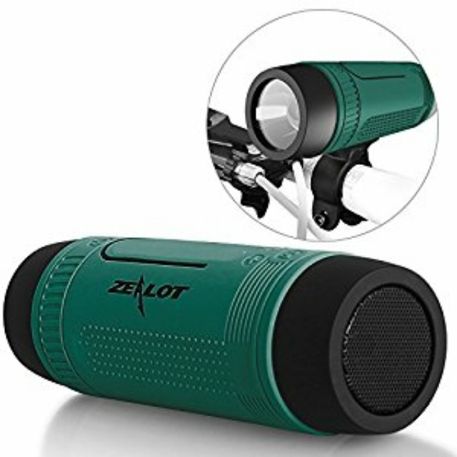 Zealot S1 Sport Music Outdoor Flashlight Speaker (Blue)
