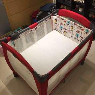 GRACO 舒適嬰幼兒電動安撫遊戲床 Contour Electra-遊樂園(含運)